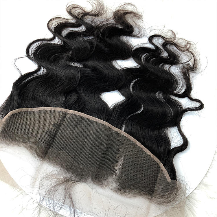 Virgin Human Hair Frontal with Body Wave