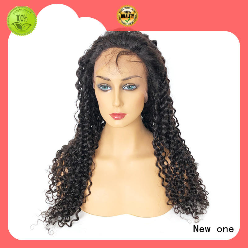 New one natural human hair lace wigs factory direct supply for women