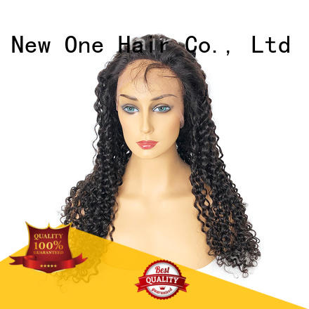 New one human hair lace wigs manufacturer for cancer patient