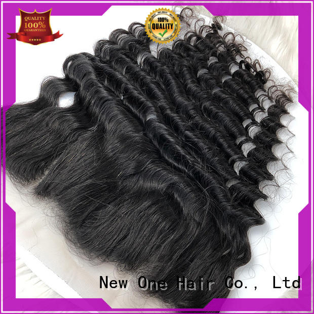 fashion transparent lace frontal customized for women