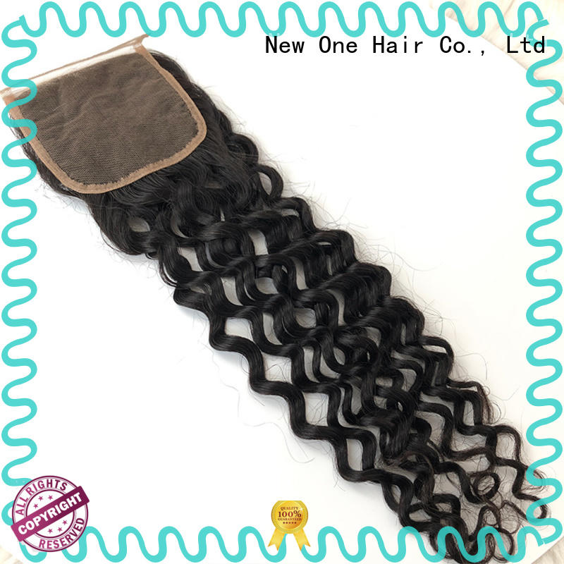 New one comfortable transparent lace closure supplier for brazilian women