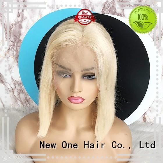 New one beautiful human hair lace wigs supplier for brazilian women