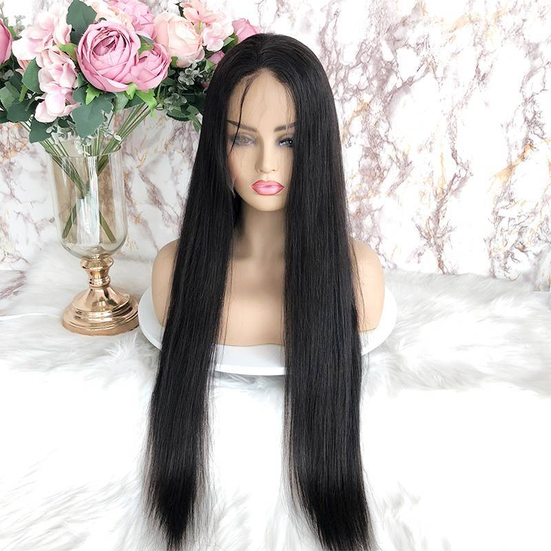 Virgin Brazilian Hair HD Full Lace Wig