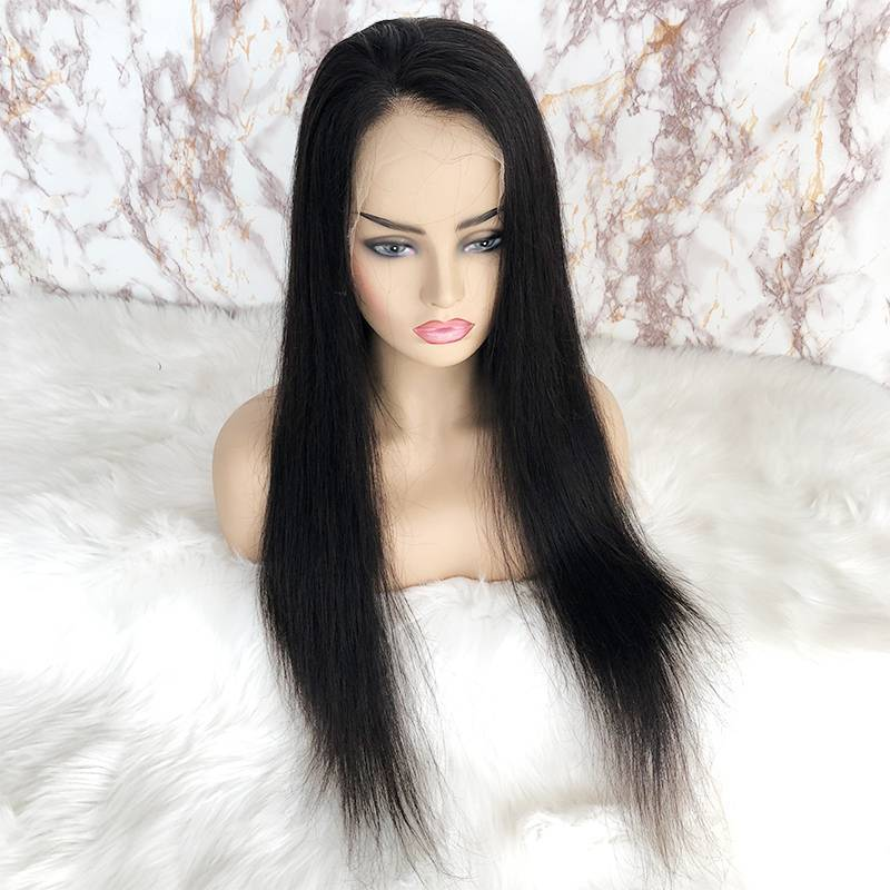 9A Virgin Human Hair HD Full Lace Front Wig