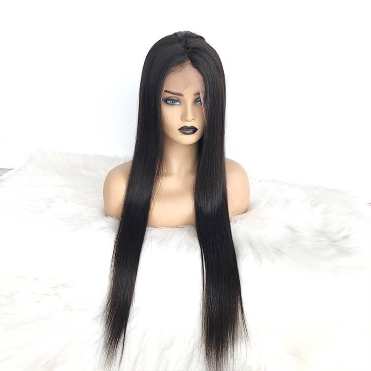 Silky Straight  Long Hair 13x6 Lace Front Wig