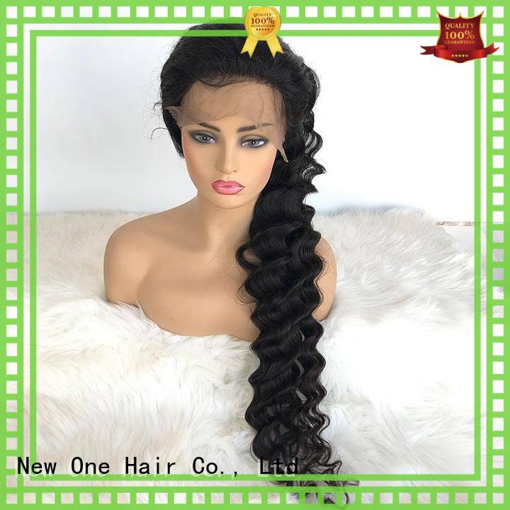 New one beautiful transparent lace wigs factory direct supply for American Women