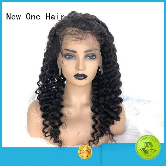 natural human hair lace wigs manufacturer for American Women