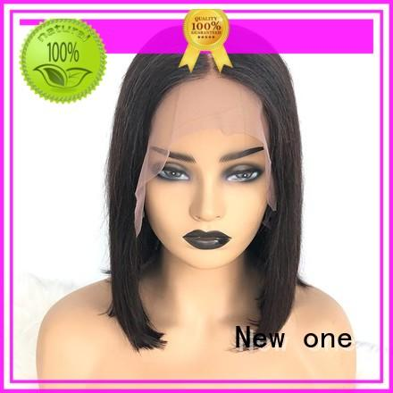 New one human hair lace wigs customized for black women