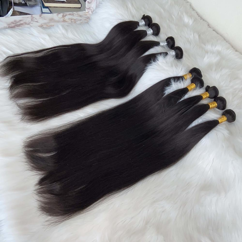 10A grade Double Drawn Virgin Hair  Bundles