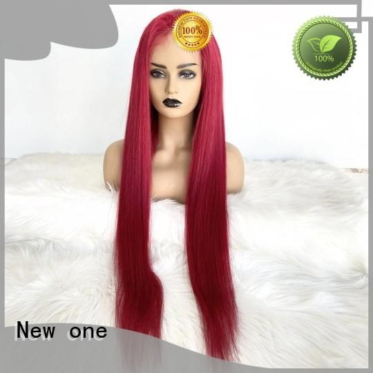 New one human hair lace wigs factory direct supply for black women