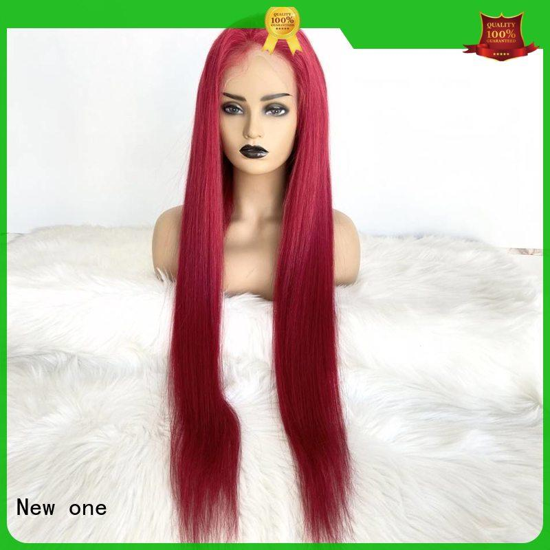 New one human hair lace wigs factory direct supply for women