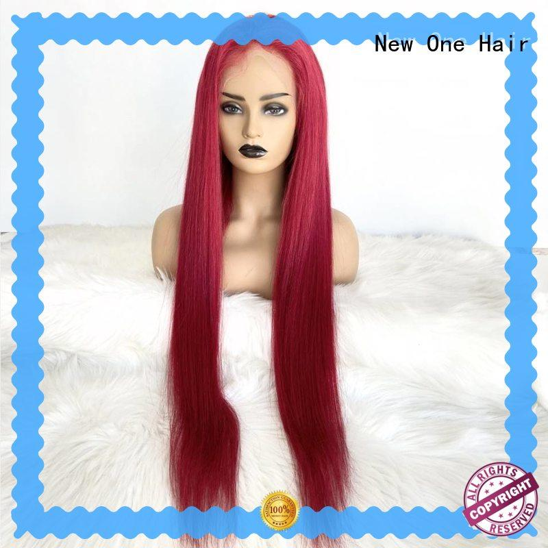 stylish human hair lace wigs factory direct supply for cancer patient